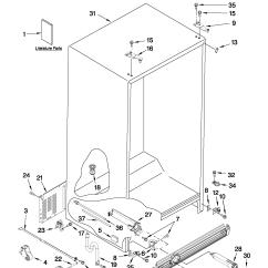 Jenn Air Refrigerator Parts Diagram 1992 Jeep Cherokee Sport Radio Wiring Side By Model