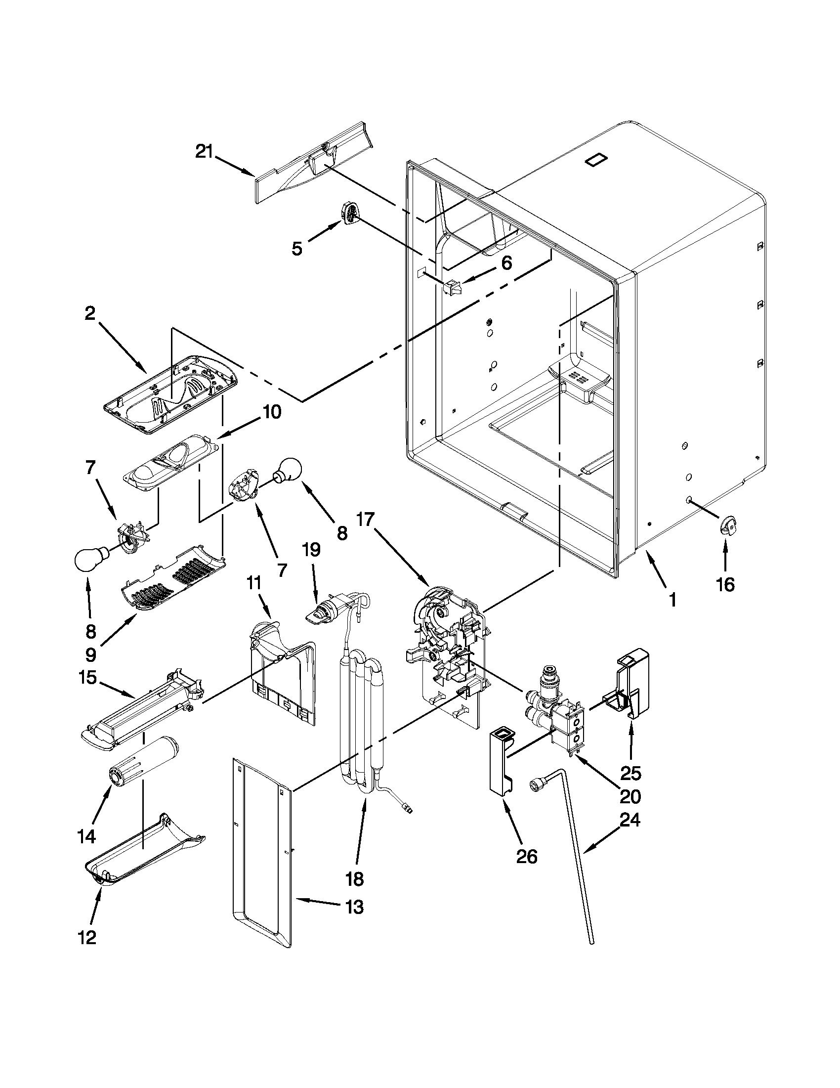 whirlpool gold refrigerator parts diagram citroen c4 boot wiring 36