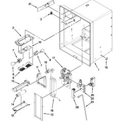 Maytag Refrigerator Thermostat Schematic Diagram Steam Locomotive Parts Model Mfi2665xew7 Sears