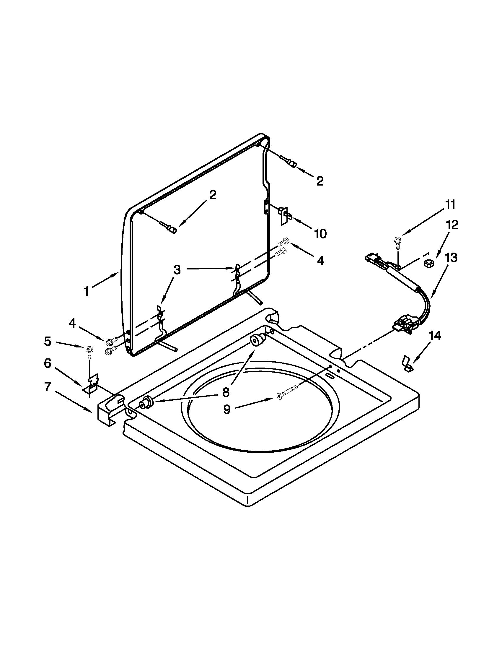 whirlpool thin twin washer parts diagram