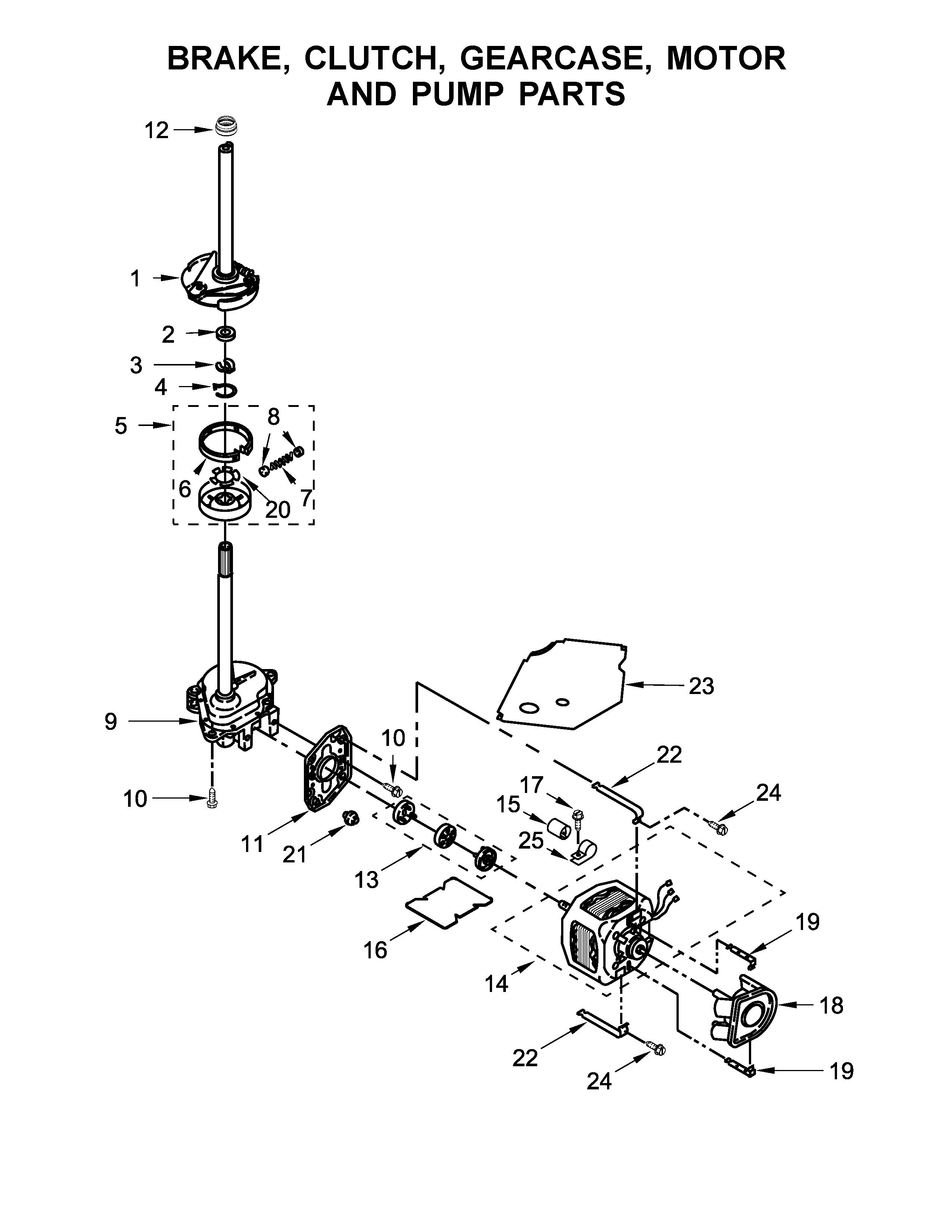 Whirlpool model WET4027EW0 laundry centers/combos genuine