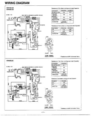 PANASONIC MATSUSHITA ROOM AIR CONDITIONER Parts | Model