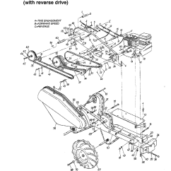 Mtd Yard Machine Parts Diagram Briggs And Stratton Lawn Mower Engine Model 215 410 000 Rear Tine Gas Tiller Genuine