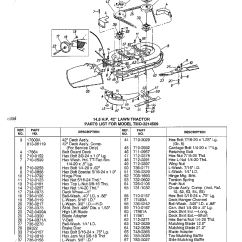 Mtd Yard Machine Parts Diagram 2004 Chrysler Pacifica Exhaust System Model 3214509 Lawn Tractor Genuine 14 5hp
