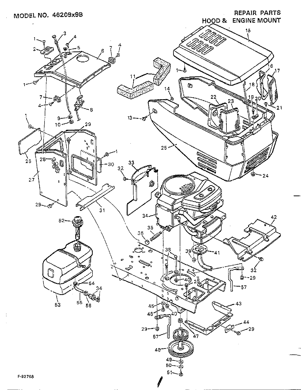 Murray Ignition Switch Diagram Tecumseh Ignition Diagram