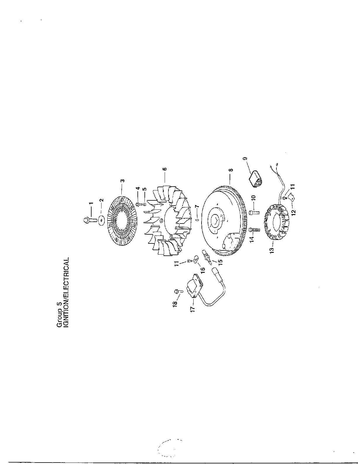 Kohler model CV15S-41515 engine genuine parts