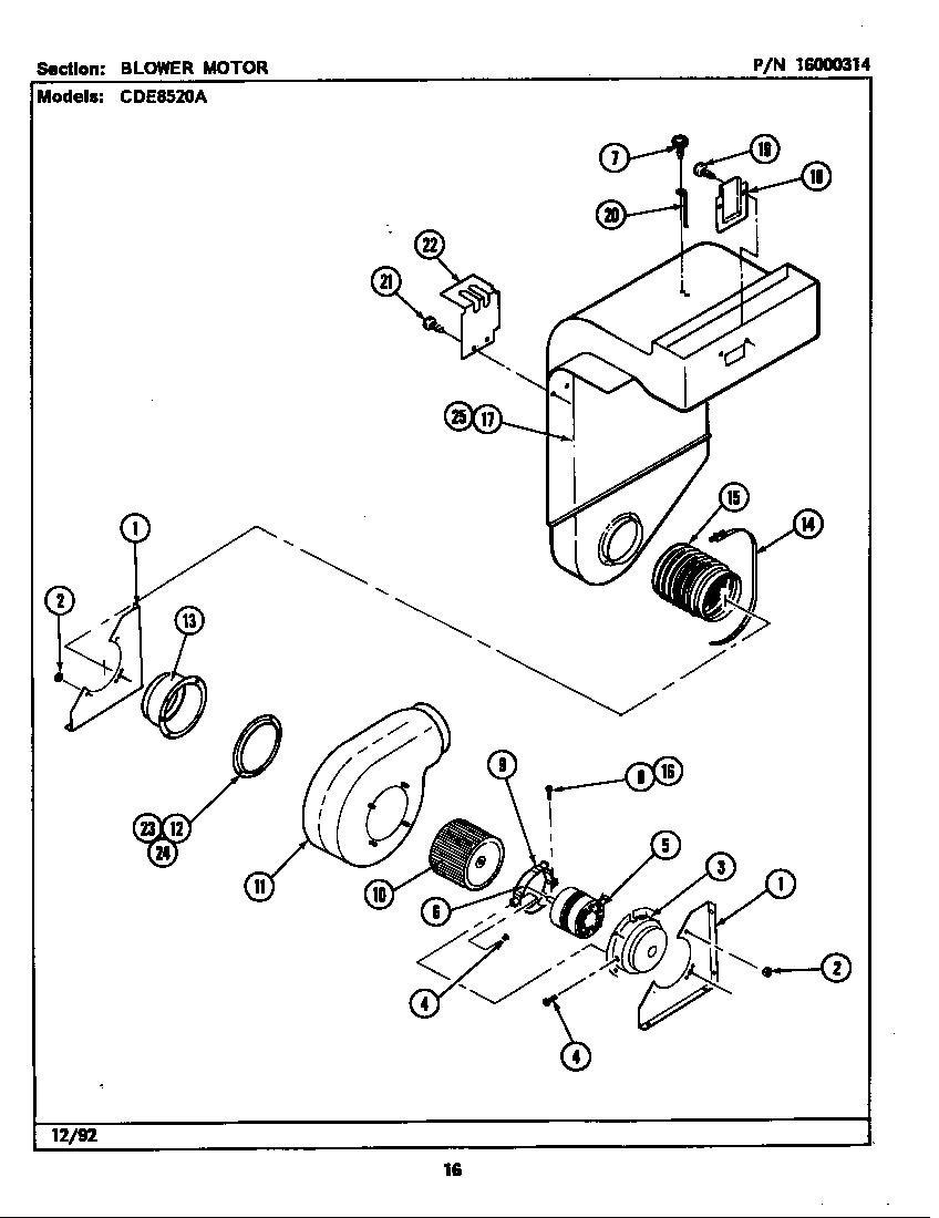 Maytag model CDE8520ACB slide-in range, electric genuine parts