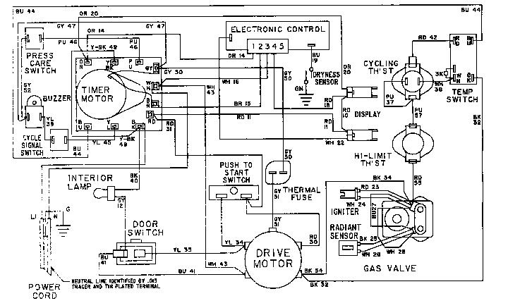 Maytag model LDE8824ACE laundry (26) genuine parts
