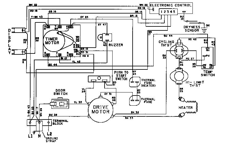 Maytag model LDE8604ACE residential dryer genuine parts
