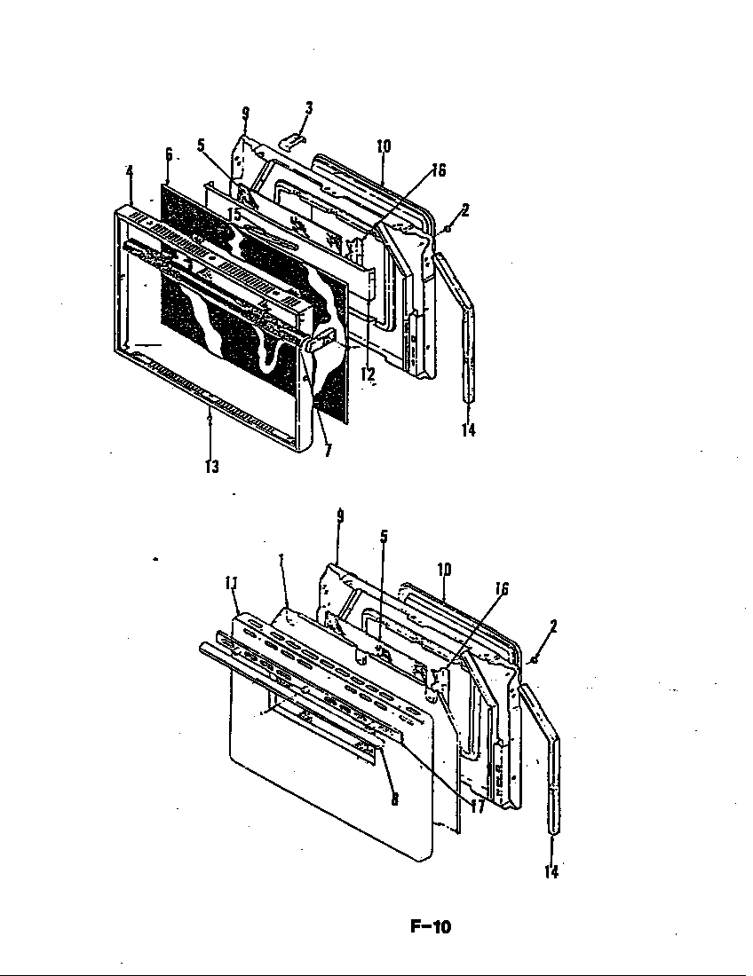 Magic-Chef model 64FK-3CKX range (gas) genuine parts