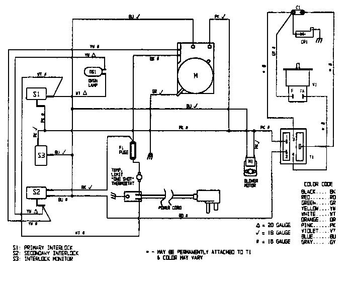 Magic-Chef model DM80KB countertop microwave genuine parts