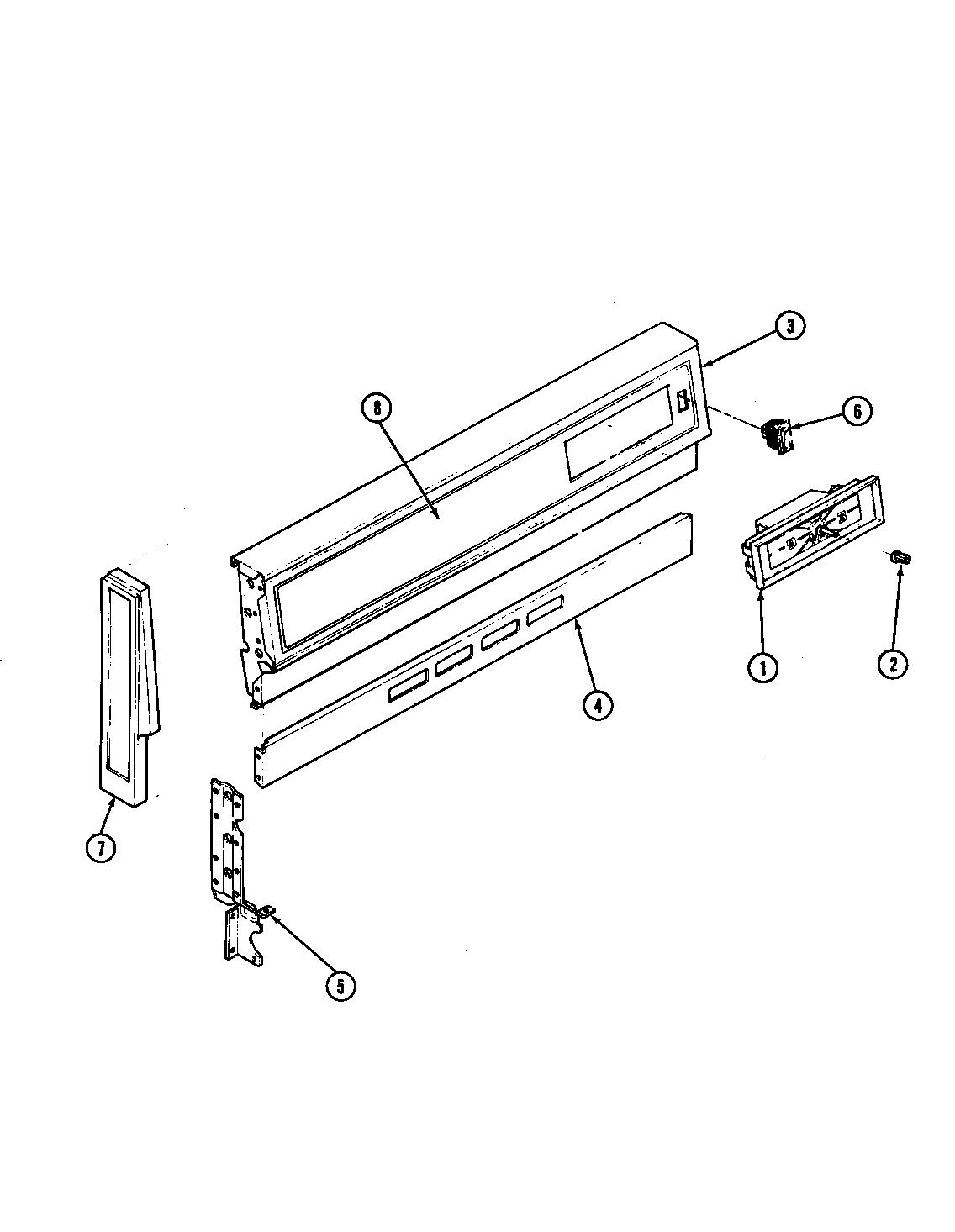 Magic-Chef model 31HA-92KXS-ON range (gas) genuine parts