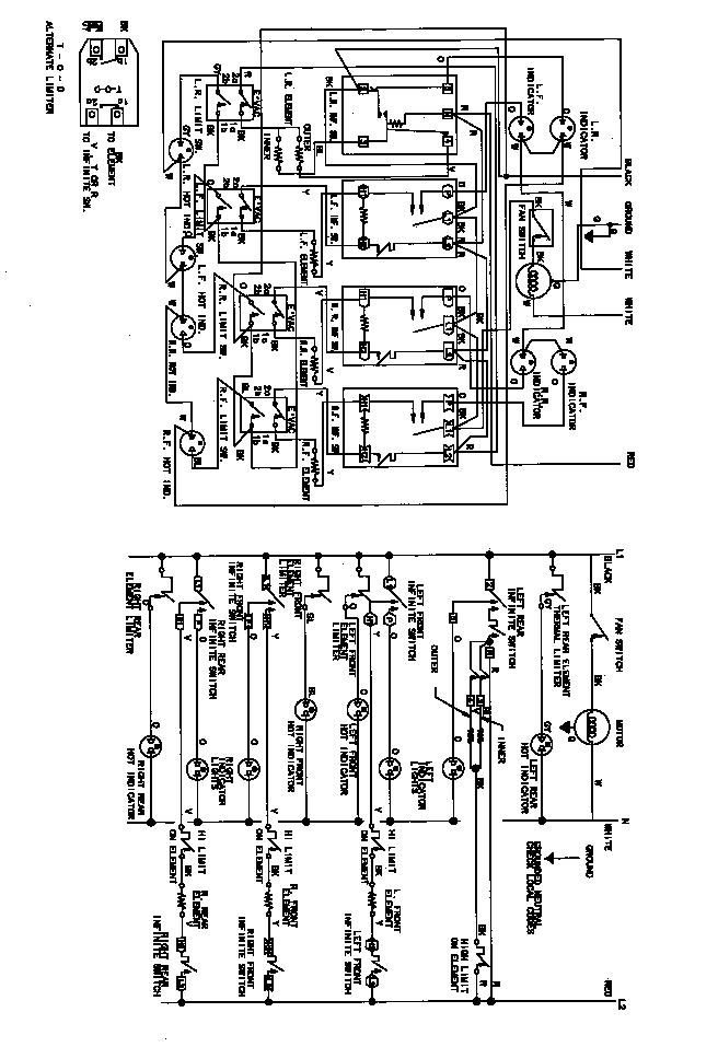 Jenn-Air model CVE3400 counter unit electric genuine parts