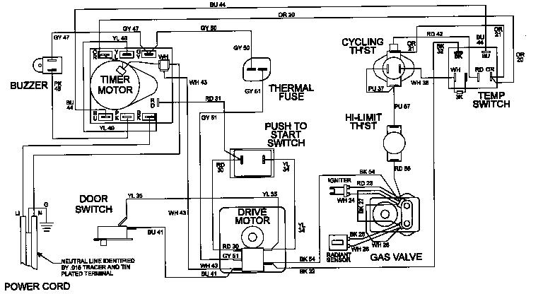 Maytag model LDE8506ACE laundry (26) genuine parts