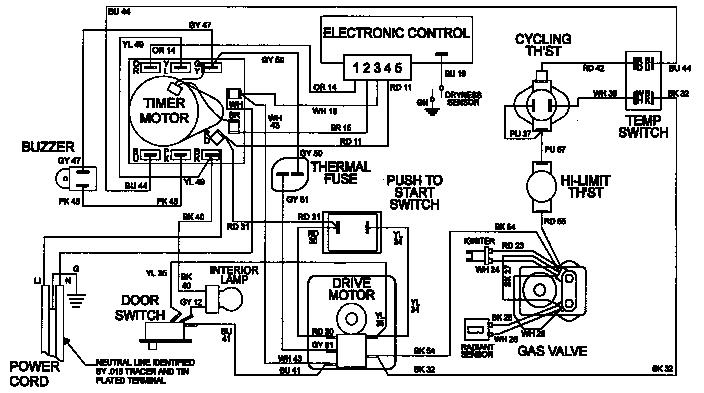 Maytag model LDE8616ACE laundry (26) genuine parts