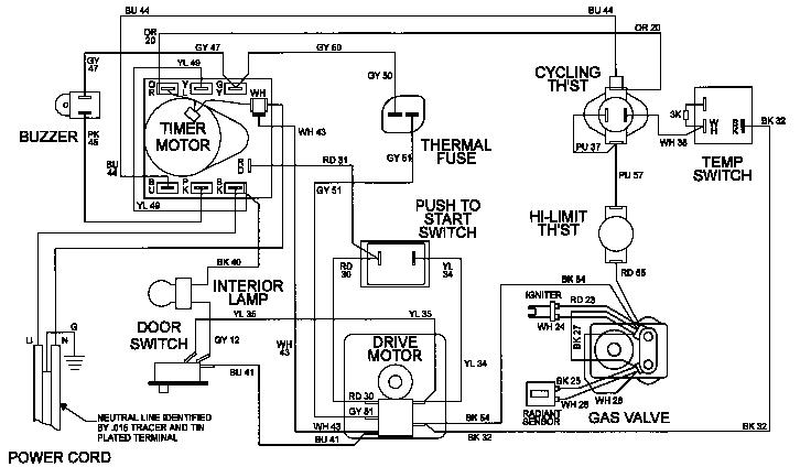 Maytag model LDE9316ACE laundry (26) genuine parts