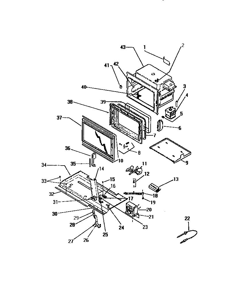 White-Westinghouse model KM577GXM1 microwave/hood combo