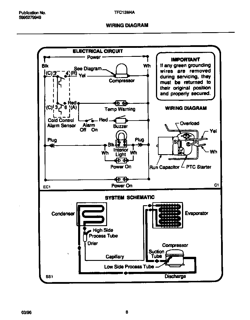 Home Air Conditioner Compressor Wiring Diagram Air