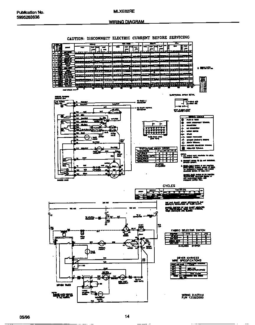UNIVERSAL/MULTIFLEX (FRIGIDAIRE) LAUNDRY CENTER