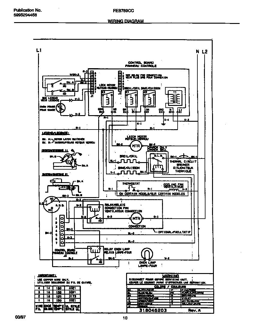 Frigidaire model FEB789CCSE built-in oven, electric