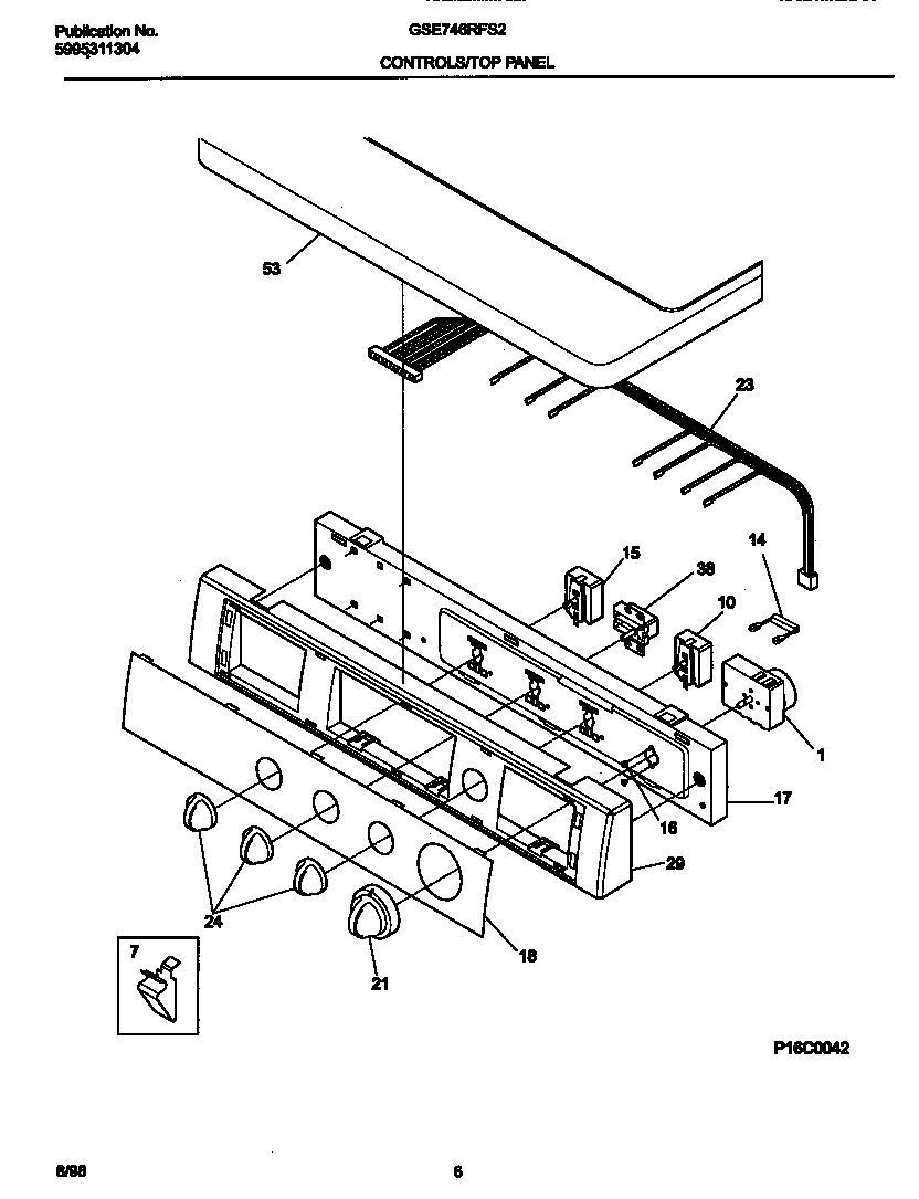 Gibson model GSE746RFS2 residential dryer genuine parts