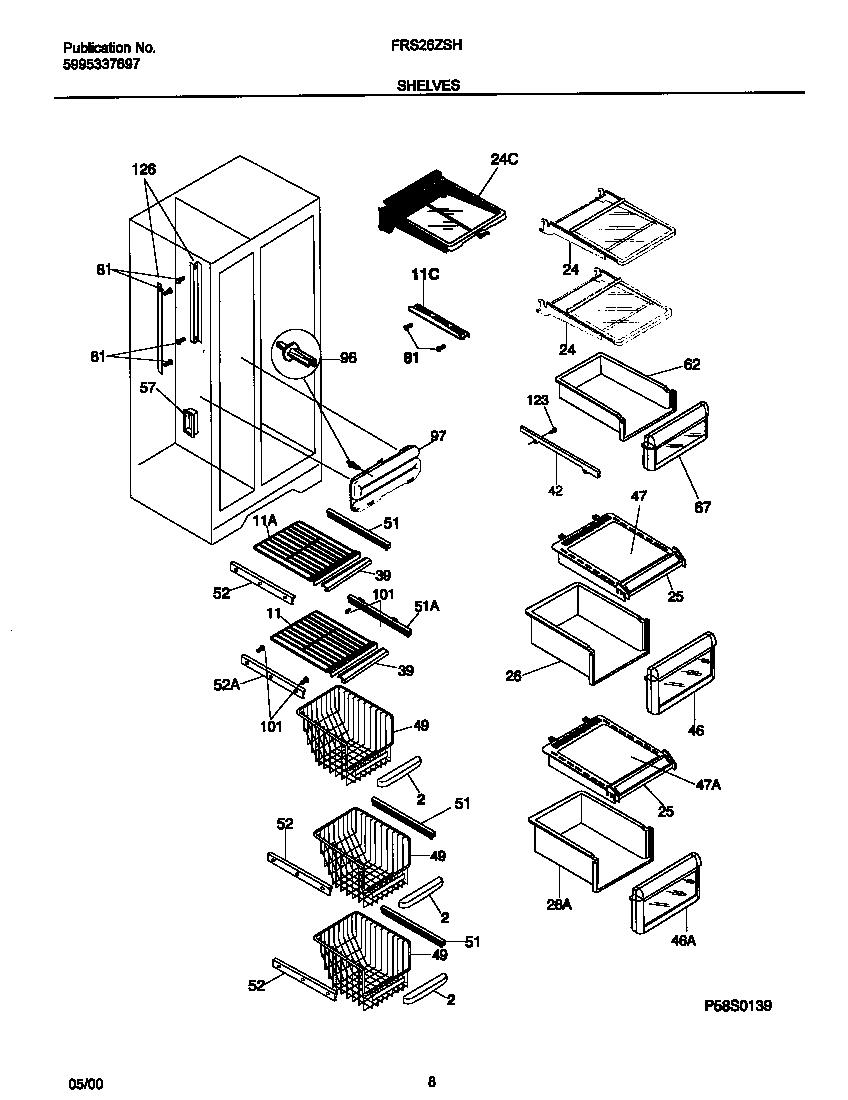 Refrigerator Cooling Schematic Refrigerator Wiring