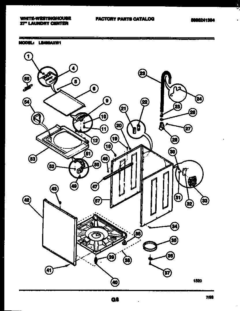 Westinghouse Dryer Diagram Estate Dryer Diagram Wiring