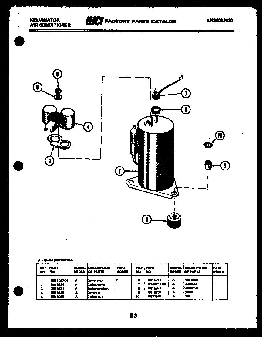Kelvinator model SH310D1QA air-conditioner/heat pump
