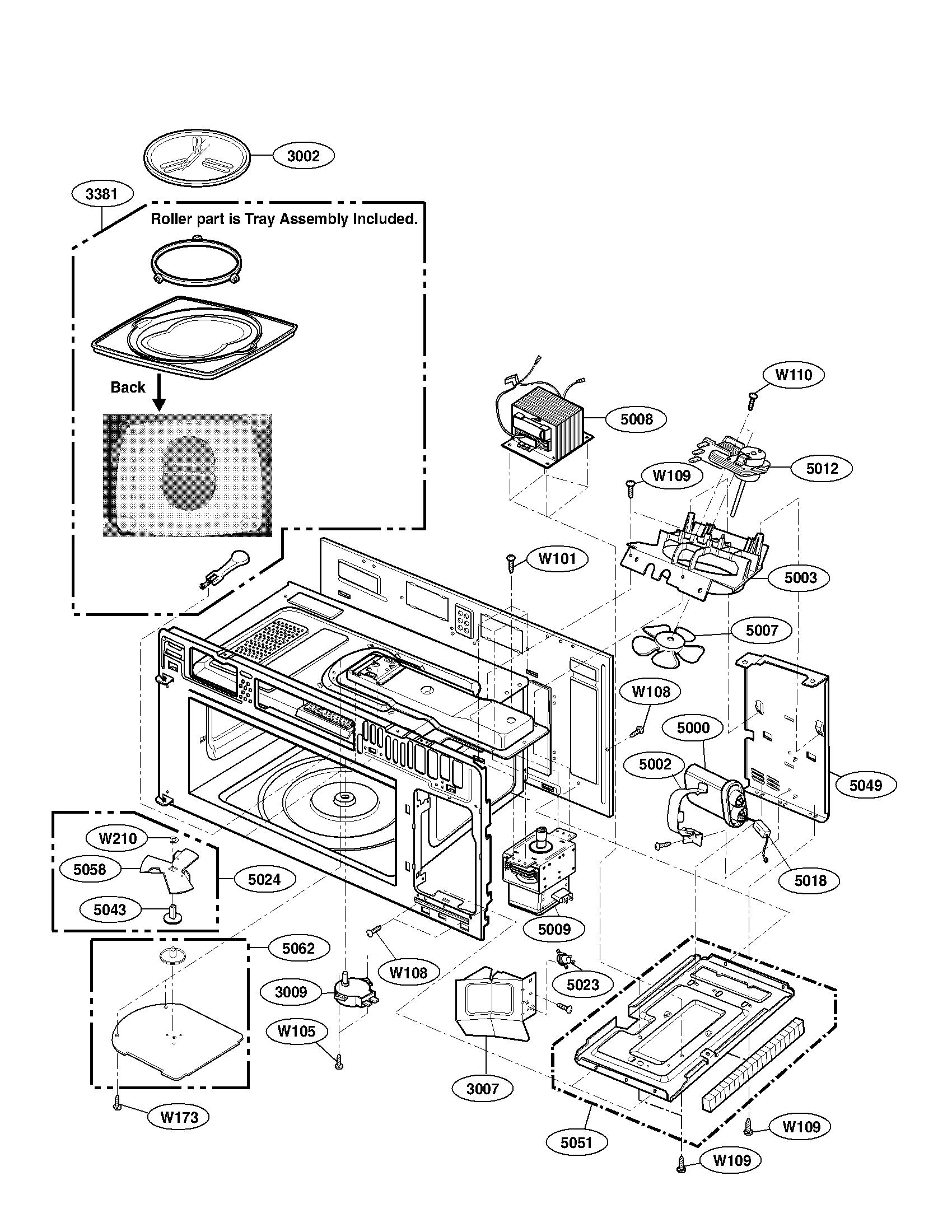 Kenmore-Elite model 72180833500 microwave/hood combo