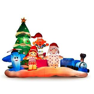 Island Of Misfit Toys Christmas Decorations