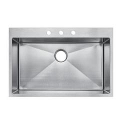 33 X 22 Kitchen Sink Undermount Installation Starstar Top Mount Drop In Single Bowl 304 Stainless Steel