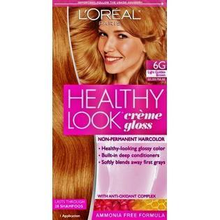 l'oreal healthy hair dye creme