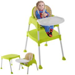 Booster Seat Or High Chair Which Is Better Recycled Plastic Adirondack Chairs Seats Sears Goplus 3 In 1 Baby Convertible Table Toddler Feeding Highchair