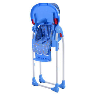 booster seat high chair lucite ghost goplus adjustable baby infant toddler feeding folding blue 3