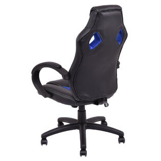 bucket racing chair ikea rocking covers costway high back seat office desk gaming swivel executive new