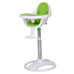 Costway New Pedestal Baby High Chair Infant Durable