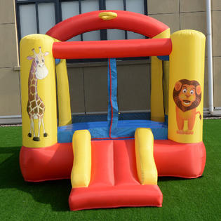 Costway Inflatable Animals Jumping Bounce House Castle