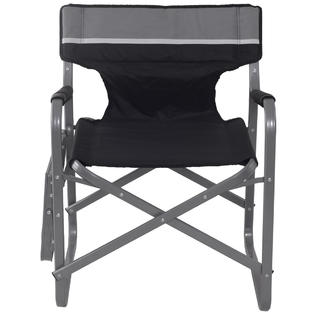 outdoor folding chair with side table metal and wood chairs goplus director s camping fishing cup holder