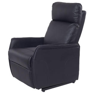 euro recliner chair hanging used lounge chairs goplus pu electric lift power reclining sofa w remote controller