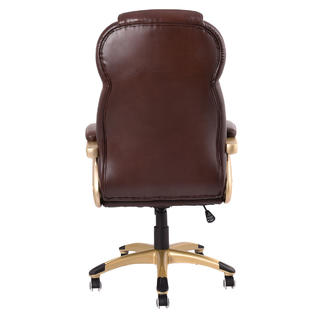 brown computer chair monkey for babies goplus ergonomic office pu leather high back executive desk task