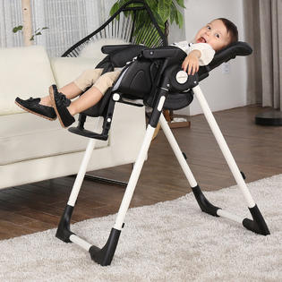 height adjustable high chair baby glider safeplus infant toddler feeding booster folding recline 3