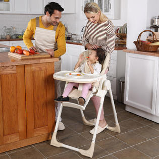 height adjustable high chair baby intex pull out inflatable bed twin safeplus infant toddler feeding booster folding recline