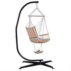 Air Chair Frame Office Ergonomic Accessories Goplus Op2646 Solid Steel C Hammock Stand Construction Porch Swing New 3