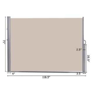 goplus op3569 118 5 x 71 patio