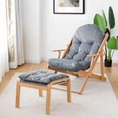 Folding Chaise Lounge Chair Walmart Wedding Covers Midlands Outdoor Chairs Goplus Recliner Adjustable Padded Armchair Patio Deck W Ottoman