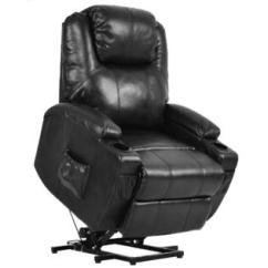 Power Chair For Sale With Umbrella Attached Walmart Lift Chairs On Sears Goplus Electric Recliner Pu Leather Padded Seat W Remote Cup Holder