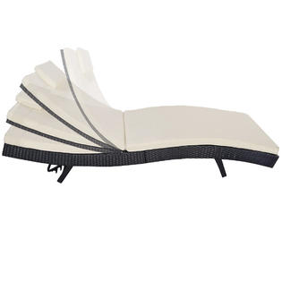summer chaise lounge chairs is there a hickory chair outlet goplus hw52051 adjustable pool outdoor patio furniture pe wicker w cushion 4