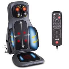 Back Massage Chair French Country Cushions Garelax Shiatsu Neck Cushion Air Compression Heated Massager Seat