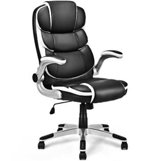 revolving chair assembly swivel yeah office desk chairs sears goplus pu leather high back executive task computer ergonomic