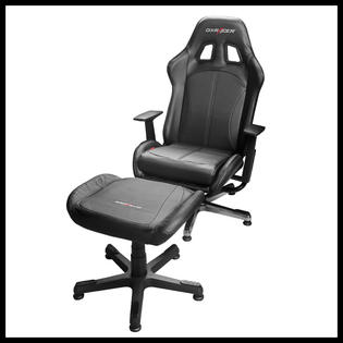 video game chair physio ball dxracer kc57n suit reclining rocer with ottoman
